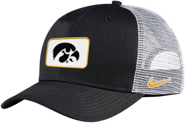 Nike Men's Iowa Hawkeyes ANF Trucker Black Hat product image
