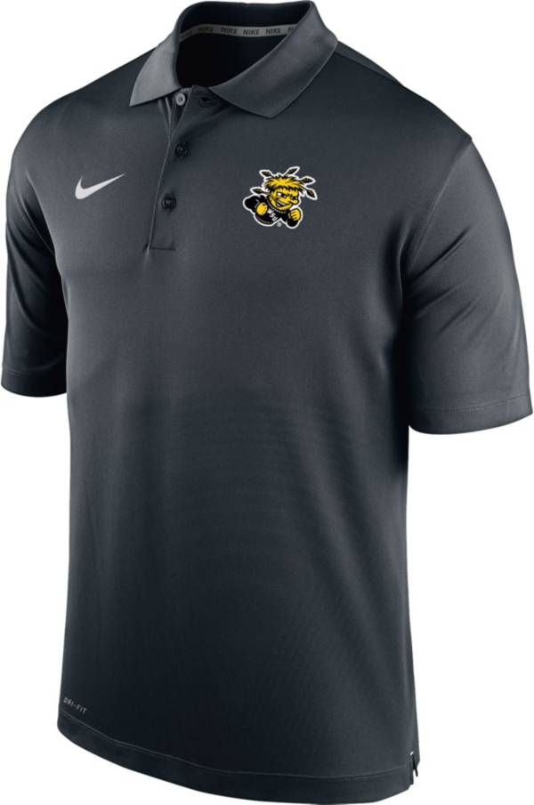 Nike Men's Wichita State Shockers Varsity Black Polo product image