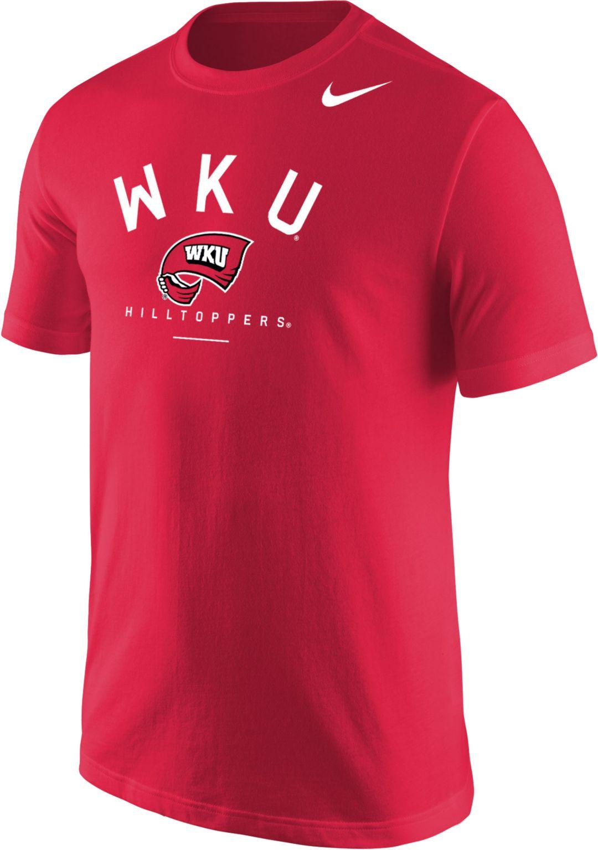 release date f4834 0f76d Nike Men s Western Kentucky Hilltoppers Red Mascot T-Shirt. noImageFound. 1