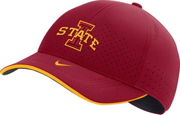 Nike Men's Iowa State Cyclones Cardinal AeroBill Classic99 Football Sideline Hat product image