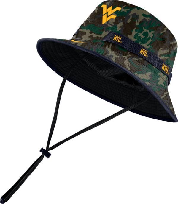 Nike Men's West Virginia Mountaineers Camo Dri-FIT Sideline Bucket Hat product image