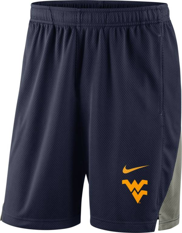 Nike Men's West Virginia Mountaineers Blue Franchise Shorts product image