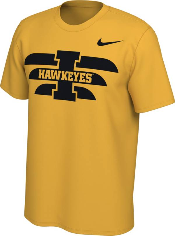 Nike Men's Iowa Hawkeyes Gold Energy Pack Stripe T-Shirt product image
