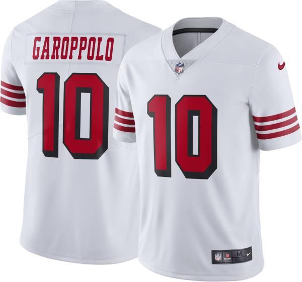 Nike Men's San Francisco 49ers Jimmy Garoppolo #10 White Limited Jersey
