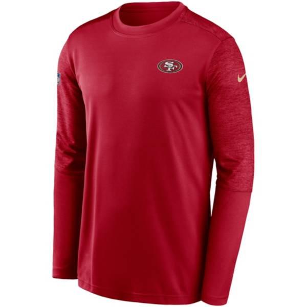 Nike Men's San Francisco 49ers Sideline Coach Long-Sleeve T-Shirt product image