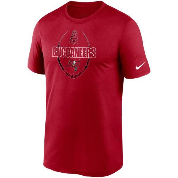Nike Men's Tampa Bay Buccaneers Legend Icon Red T-Shirt product image