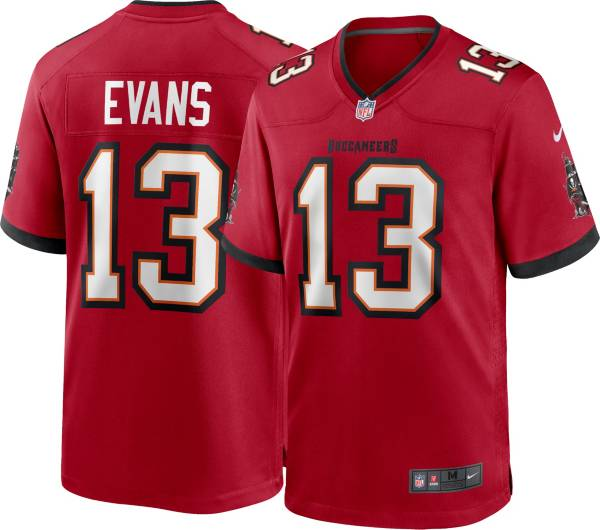 Nike Men's Tampa Bay Buccaneers Mike Evans #13 Red Game Jersey