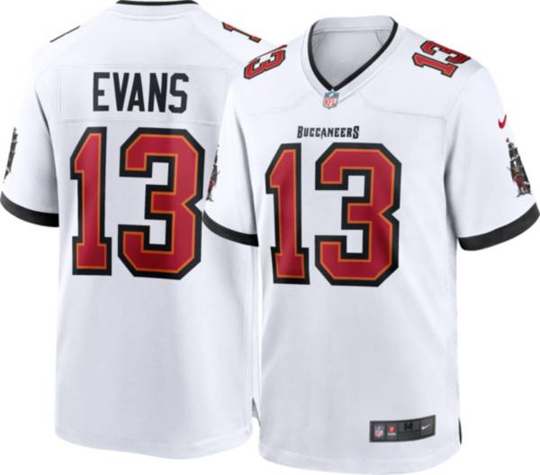 Nike Men's Tampa Bay Buccaneers Mike Evans #13 Away White Game Jersey product image