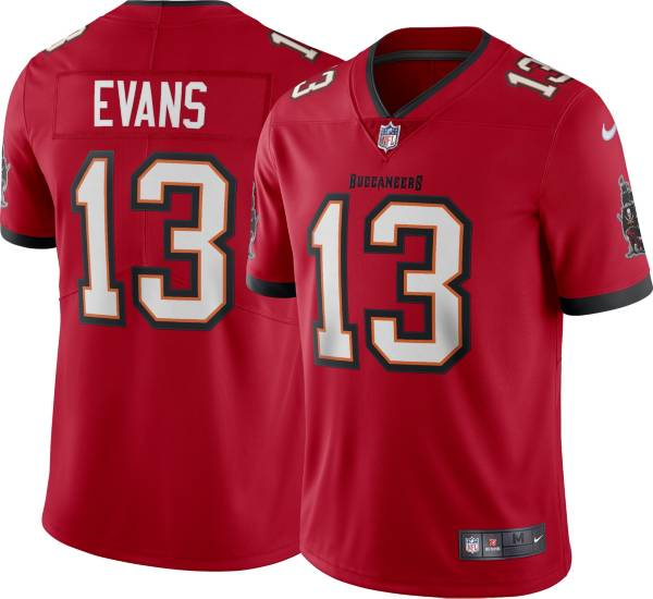 Nike Men's Tampa Bay Buccaneers Mike Evans #13 Home Red Limited Jersey product image
