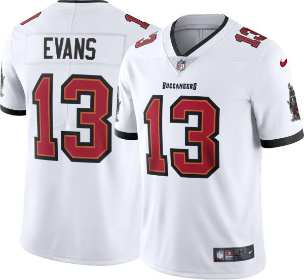 Nike Men's Tampa Bay Buccaneers Mike Evans #13 Away White Limited Jersey product image