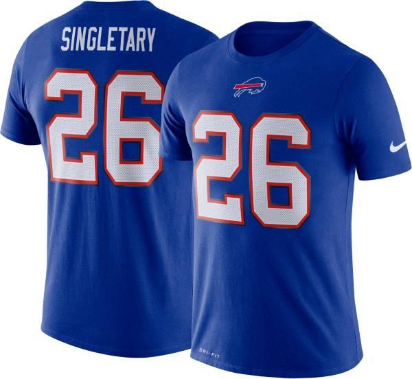 Nike Men's Buffalo Bills Devin Singletary #26 Logo Royal T-Shirt product image