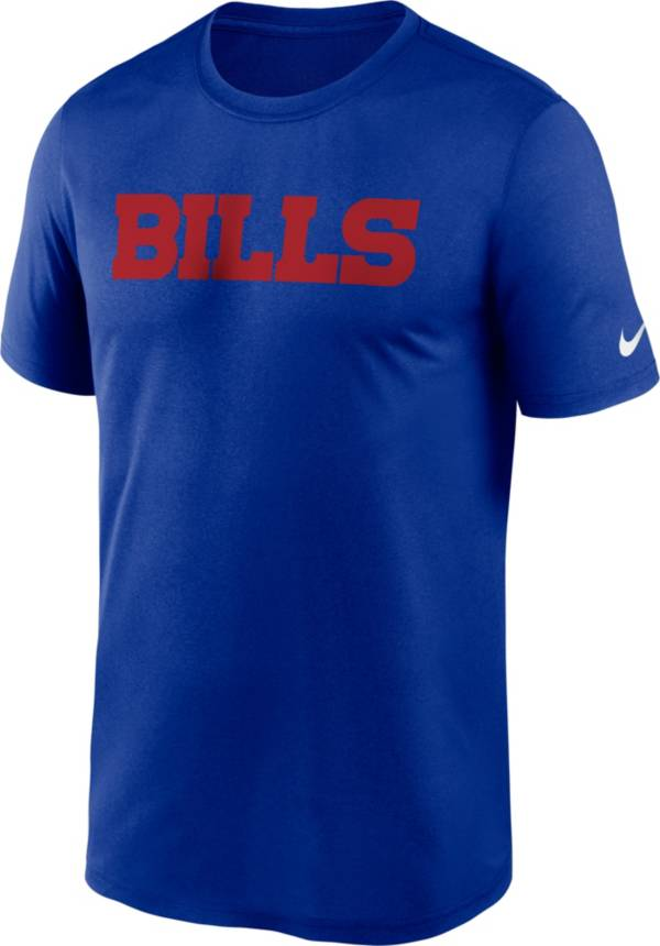 Nike Men's Buffalo Bills Sideline Dri-Fit Cotton  T-Shirt product image