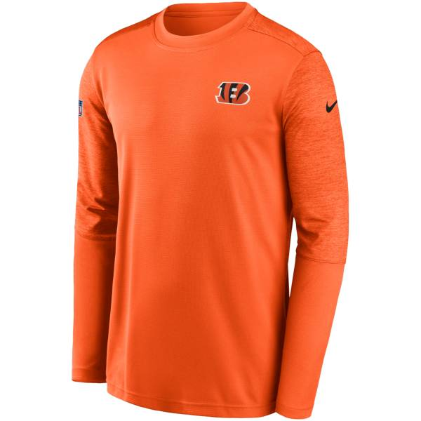 Nike Men's Cincinnati Bengals Coaches Sideline Long Sleeve Shirt product image
