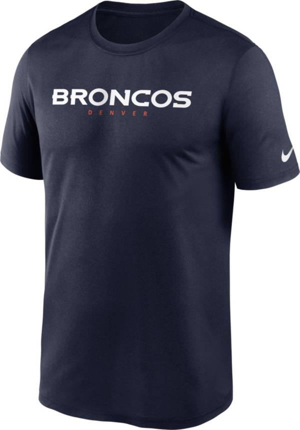 Nike Men's Denver Broncos Sideline Dri-Fit Cotton  T-Shirt product image