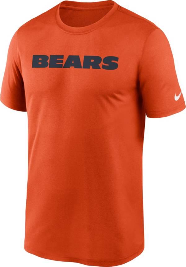 Nike Men's Chicago Bears Sideline Dri-Fit Cotton  T-Shirt product image