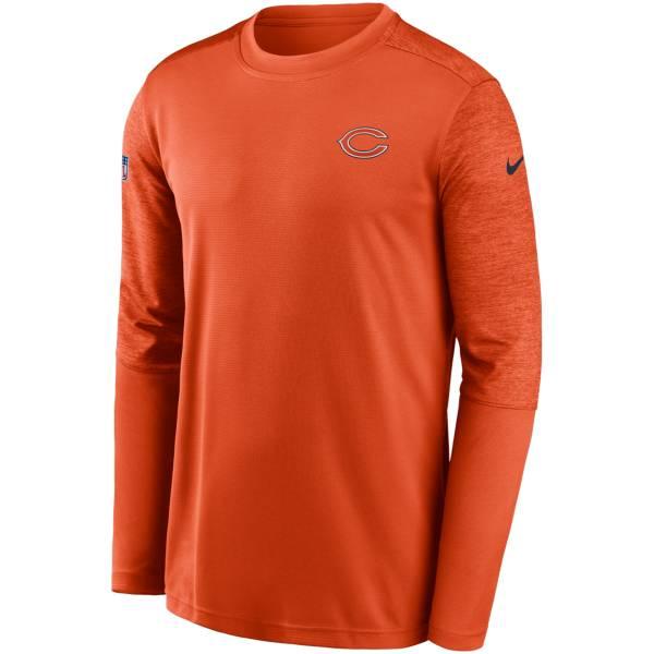 Nike Men's Chicago Bears Coaches Sideline Long Sleeve Shirt product image