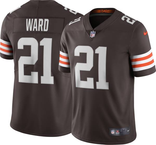 Nike Men's Home Limited Jersey Cleveland Browns Denzel Ward #21 product image