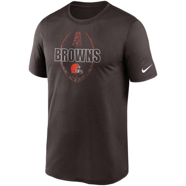 Nike Men's Cleveland Browns Legend Icon Brown T-Shirt product image