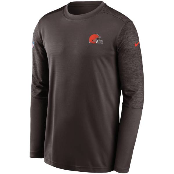 Nike Men's Cleveland Browns Sideline Coach Long-Sleeve T-Shirt product image