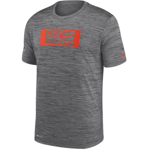 Nike Men's Cleveland Browns Sideline Legend Velocity Chrome T-Shirt product image
