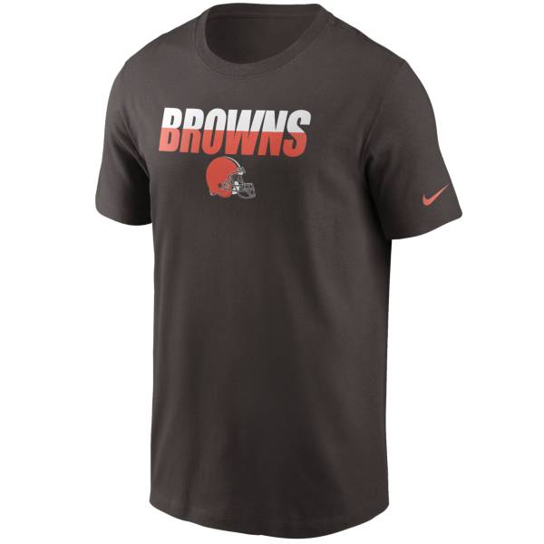 Nike Men's Cleveland Browns Split Name T-Shirt product image
