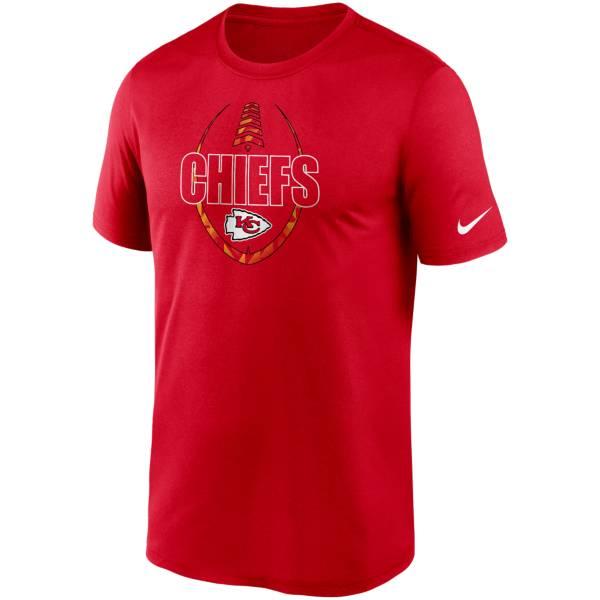 Nike Men's Kansas City Chiefs Legend Icon Red T-Shirt product image