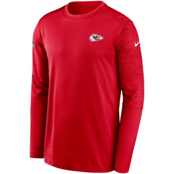 Nike Men's Kansas City Chiefs Sideline Coach Long-Sleeve T-Shirt product image