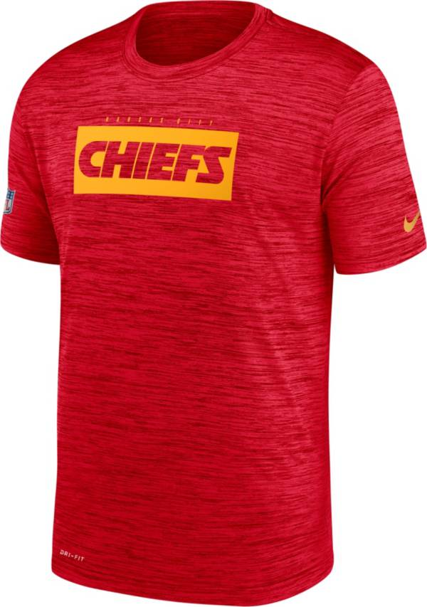 Nike Men's Kansas City Chiefs Sideline Legend Velocity Red T-Shirt product image