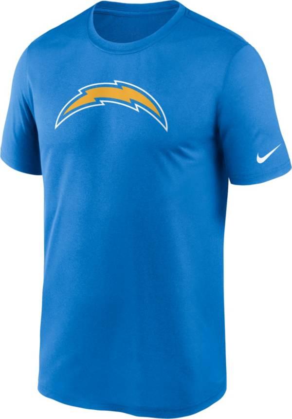 Nike Men's Los Angeles Chargers Legend Logo Light Blue T-Shirt product image