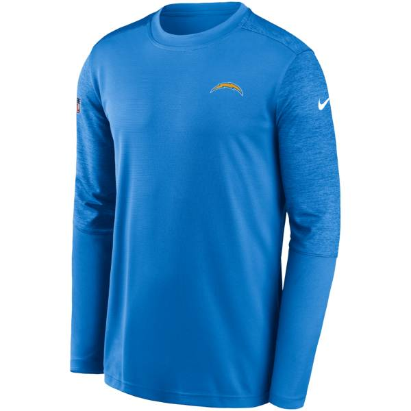Nike Men's Los Angeles Chargers Coaches Sideline Long Sleeve Shirt product image