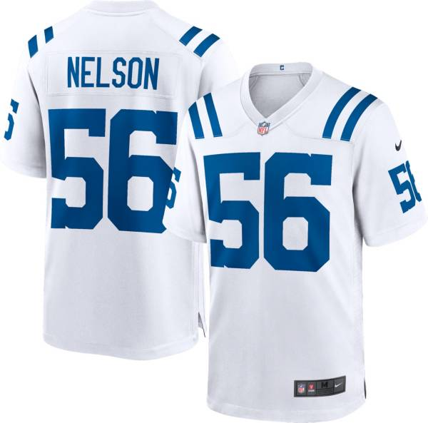 Nike Men's Indianapolis Colts Quenton Nelson #56 White Game Jersey product image