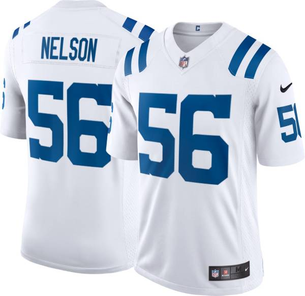Nike Men's Indianapolis Colts Quenton Nelson #56 White Limited Jersey product image