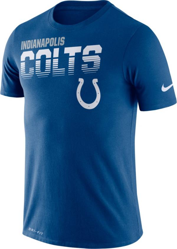 Nike Men's Indianapolis Colts Sideline Legend Performance Blue T-Shirt product image