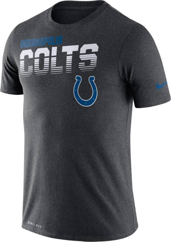Nike Men's Indianapolis Colts Sideline Legend Performance Charcoal T-Shirt product image