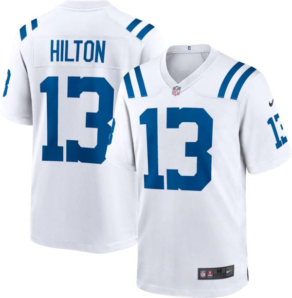 Nike Men's Indianapolis Colts T.Y. Hilton #13 White Game Jersey product image