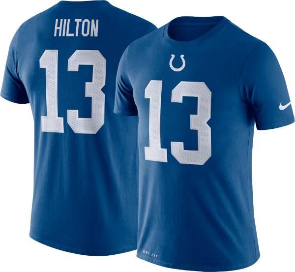 Nike Men's Indianapolis Colts T.Y. Hilton #13 Logo Blue T-Shirt product image