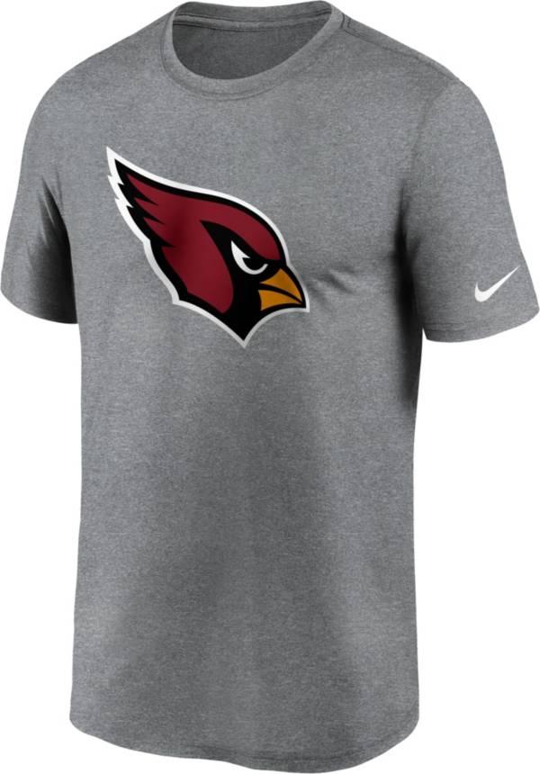 Nike Men's Arizona Cardinals Legend Logo Grey T-Shirt product image