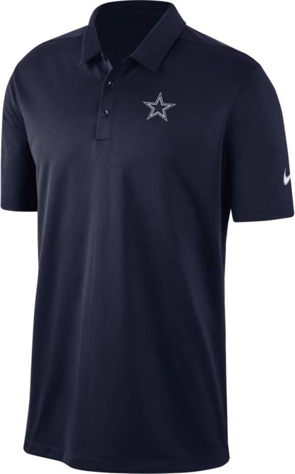 Nike Men's Dallas Cowboys Franchise Navy Polo product image
