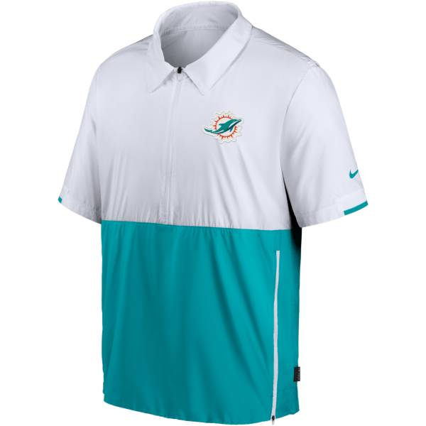 Nike Men's Miami Dolphins Coaches Sideline Half-Zip Jacket product image