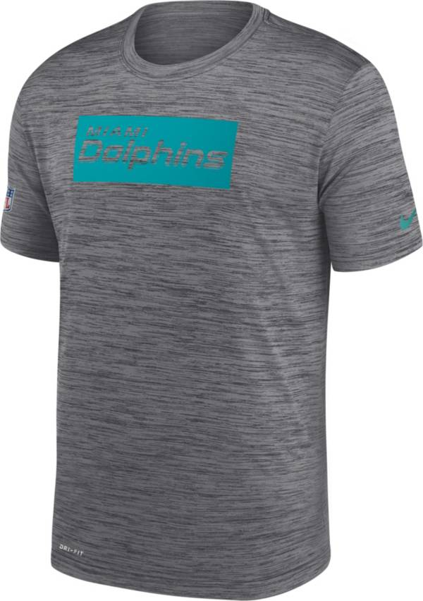 Nike Men's Miami Dolphins Sideline Dri-Fit Cotton  T-Shirt product image