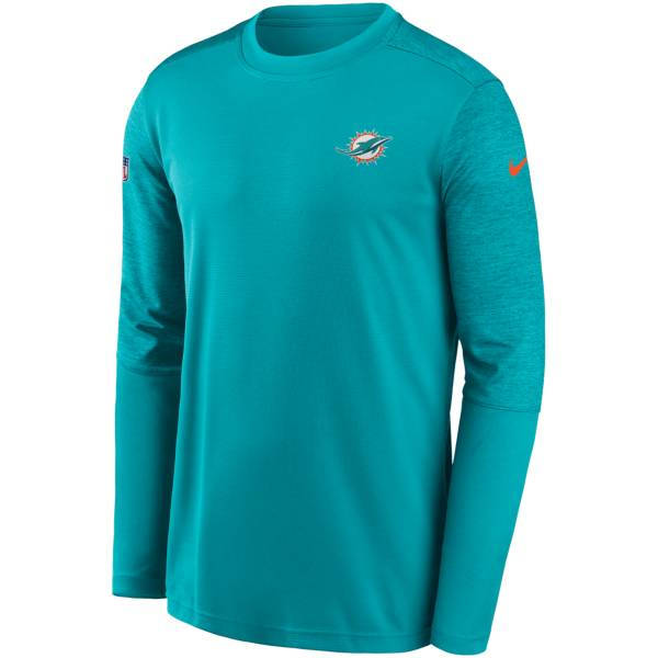 Nike Men's Miami Dolphins Coaches Sideline Long Sleeve T-Shirt product image