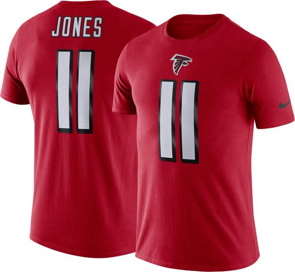 Nike Men's Atlanta Falcons Julio Jones #11 Logo Red T-Shirt product image