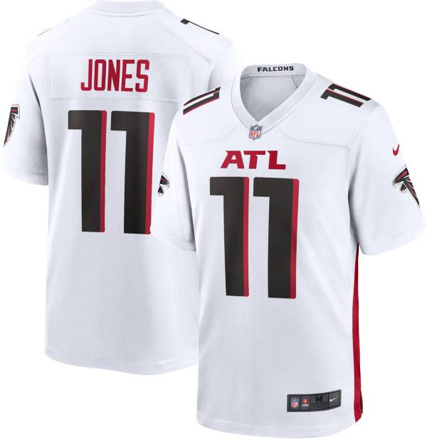 Nike Men's Atlanta Falcons Julio Jones #11 White Game Jersey product image