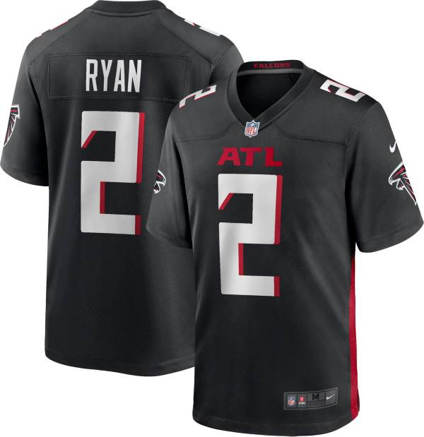 Nike Men's Atlanta Falcons Matt Ryan #2 Black Game Jersey product image