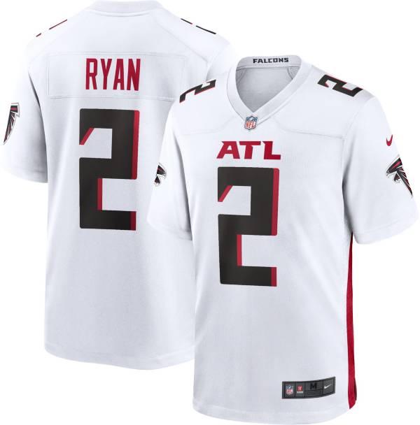 Nike Men's Atlanta Falcons Matt Ryan #2 White Game Jersey product image