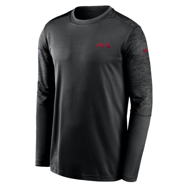 Nike Men's Atlanta Falcons Sideline Coach Black Long-Sleeve T-Shirt product image