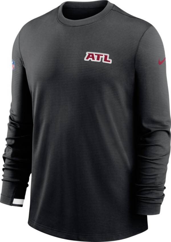 Nike Men's Atlanta Falcons Dri-FIT Silver Long Sleeve T-Shirt product image