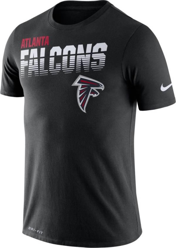 Nike Men's Atlanta Falcons Sideline Legend Performance Black T-Shirt product image