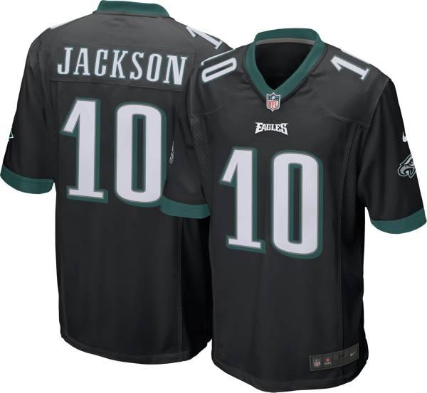 Nike Men's Philadelphia Eagles Desean Jackson #10 Black Game Jersey