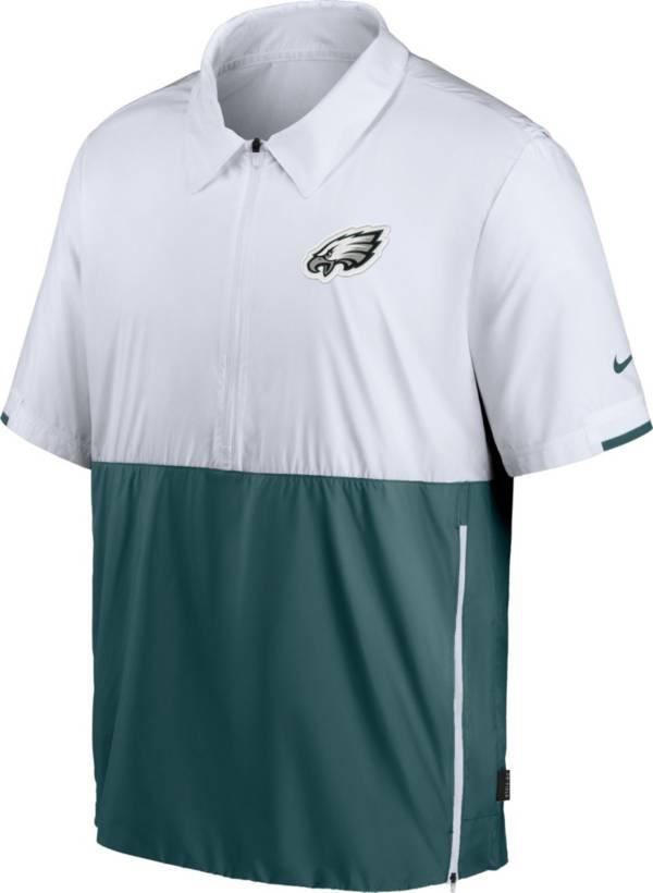 Nike Men's Philadelphia Eagles Coaches Sideline Half-Zip Jacket product image